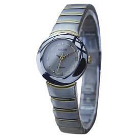 Rado Diastar Tungsten And Stainless Steel Quartz Womens Watch Year: 2000