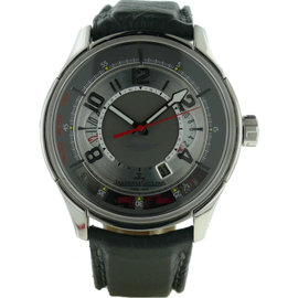 Jaeger LeCoultre Amvox Chronograph Platinum Mens Watch