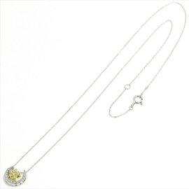 Ponte Vecchio 18K White Gold 0.23ct. Diamond Necklace