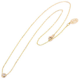 Cartier Diamants 18K Pink Gold 750 Diamond Necklace