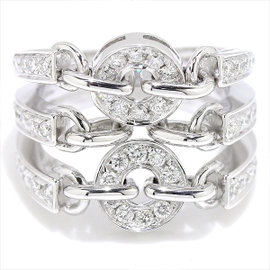 Bulgari Astrale 18K White Gold Diamond Ring