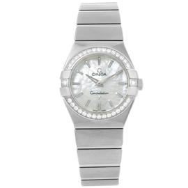 Omega Constellation 123.15.27.60.05.001 Stainless Steel Diamond 27mm Womens Watch