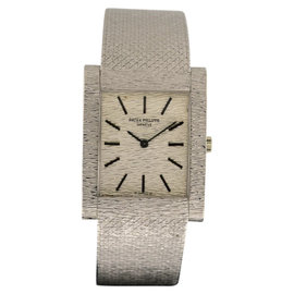 Patek Philippe Vintage 3553/1G 18K White Gold Manual 33mm Watch