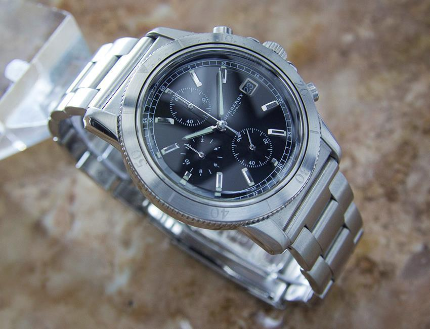 "Image of ""Burberry Stainless Steel Chronograph Quartz 38mm Mens Watch"""