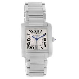 Cartier Tank Francaise W51002Q3 Automatic Stainless Steel 28mm Unisex Watch