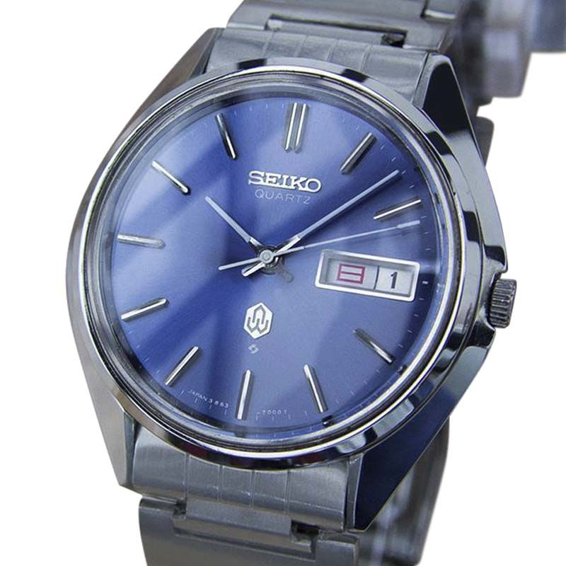 "Image of ""Seiko 3863 7001 Stainless Steel Vintage 37mm Mens Watch"""