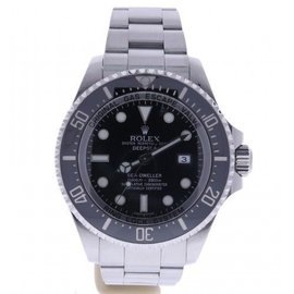 Rolex Deepsea Sea-Dweller 116660BKSO Stainless Steel Automatic 44mm Mens Watch