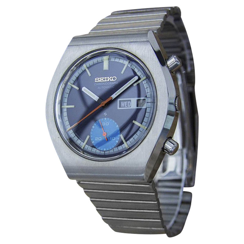 """Image of """"Seiko 6139 9020 Stainless Steel Vintage 36mm Mens Watch"""""""