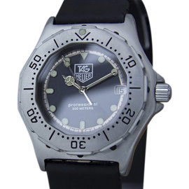 Tag Heuer Professional 932.213 Stainless Steel / Rubber 35mm Mens Watch