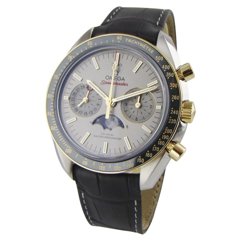 "Image of ""Omega Speemaster 304.23.44.52.06.001 Stainless Steel with 18K Gold &"""
