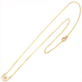 Cartier C Heart 18K Pink Gold and 0.01ct Diamond Necklace