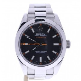 Rolex Milgauss 116400 Stainless Steel with Black Dial 40mm Mens Watch