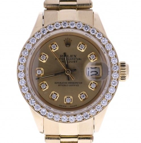 """Image of """"Rolex Datejust 6916 Stainless Steel Automatic 26mm Womens Watch"""""""