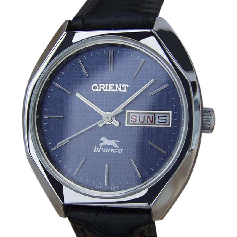 "Image of ""Orient Bronco Yy24 Stainless Steel Manual Vintage 35mm Mens Watch"""
