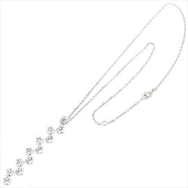 Chanel Comete 18K White Gold 750 Diamond Necklace