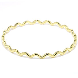 Tiffany Co. 750 18K Yellow Gold Bangle