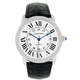 Cartier Ronde Solo W6701010 Stainless Steel 42mm Mens Watch