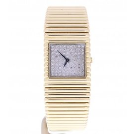 Piaget H.9PM 18K Yellow Gold 26mm Womens Vintage Watch