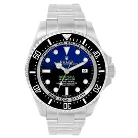 Rolex Seadweller Deepsea 116660 Stainless Steel & Blue Dial 44mm Mens Watch