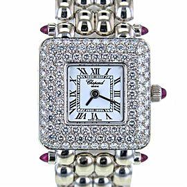 Chopard Les Classiques 10/6115-21 18K White Gold & Yellow Gold White Dial Quartz 21mm Womens Watch 2008