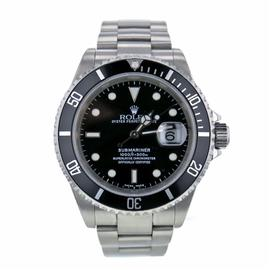 Rolex Submariner 16610 Stainless Steel Black Dial Automatic 40mm Mens Watch 2001