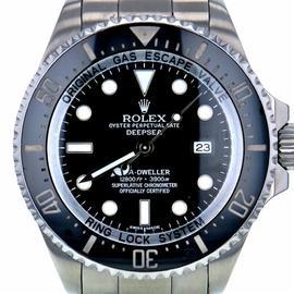 Rolex Sea-Dweller Deepsea 116660 Stainless Steel Black Dial Automatic 44mm Men's Watch 2013