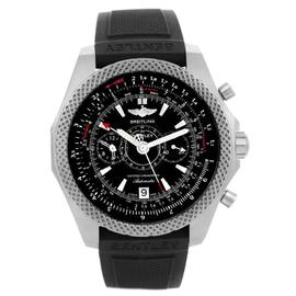 Breitling Bentley E27365 Titanium & Royal Ebony Dial 49mm Mens Watch