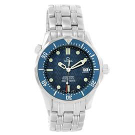 Omega Seamaster 2561.80.00 Stainless Steel & Blue Dial 36.25mm Mens Watch