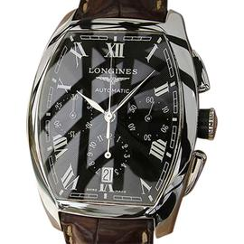 Longines Evidenza Stainless Steel / Leather Automatic 35mm Mens Watch