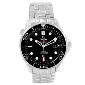 Omega Seamaster 212.30.41.20.01.003 Stainless Steel & Black Dial 41mm Mens Watch