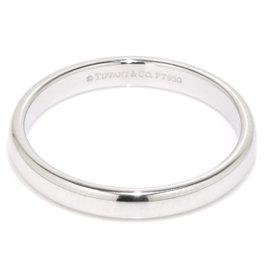 Tiffany & Co. Classic PT950 Platinum Lucida Band Ring Size 9.5