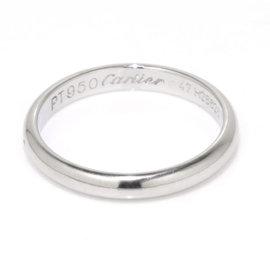 Cartier Classic Pt950 Platinum Ring Size 4-4.25