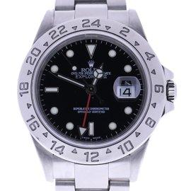 Rolex Explorer II 16570 Stainless Steel Black Dial 40mm Mens Wrist Watch 2005