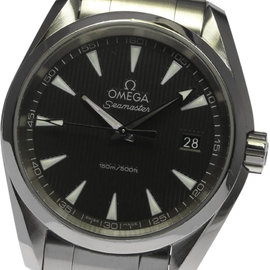 Omega Seamaster Aqua Terra 231.10.39.60.06.001 Stainless Steel Quartz 37mm Mens Wrist Watch