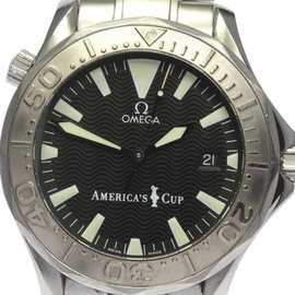 Omega Seamaster 2533.50 Stainless Steel with Black Dial 41mm Mens Watch