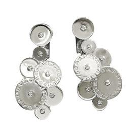 Bulgari 18K White Gold Cicladi Earrings