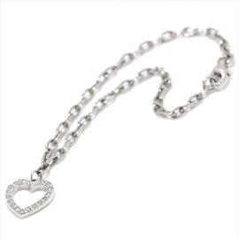 Tiffany & Co. Platinum Sentimental Heart Diamond Bracelet