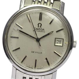 Omega Deville Stainless Steel Automatic 35mm Mens Wrist Watch