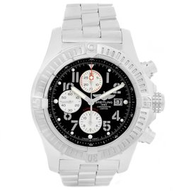 certified pre owned watches for luxury watches new and breitling aeromarine super avenger a13370 stainless steel black dial 48 4mm mens watch