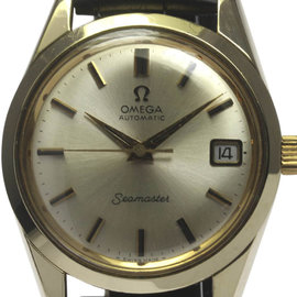 Omega Seamaster Stainless Steel with Silver Dial 35mm Mens Watch