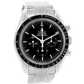 Omega Speedmaster 3573.50.00 Stainless Steel & Black Dial 42mm Mens Watch