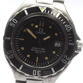 Omega Seamaster Professional 200m Stainless Steel Quartz 36mm Mens Watch