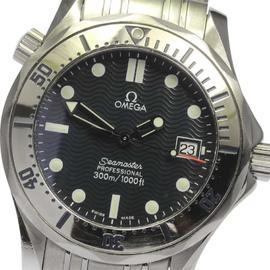 Omega Seamaster Professional 300m 2562.80 Stainless Steel Quartz 36mm Mens Wrist Watch