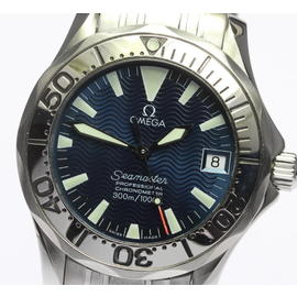 Omega Seamaster 2253.80 Stainless Steel with Blue Dial 36mm Unisex Watch