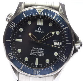 Omega Seamaster 2531.80 Stainless Steel with Navy Blue Dial 41mm Mens Watch