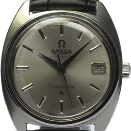 Omega Constellation Chronometer Date Automatic 34mm Mens Wrist Watch