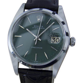 Rolex Oysterdate 6694 Stainless Steel Vintage 35mm Mens Watch