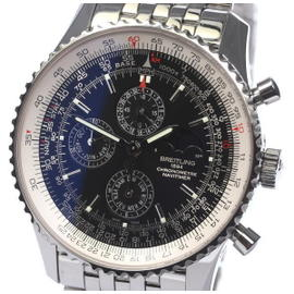 Breitling Navitimer A19370 Stainless Steel Automatic 46mm Mens Wrist Watch