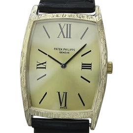 Patek Philippe 18K Yellow Gold Vintage 27mm Mens Watch