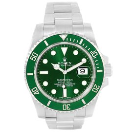 Rolex Submariner 116610LV Stainless Steel & Ceramic Bezel Green Dial Automatic 40mm Mens Watch